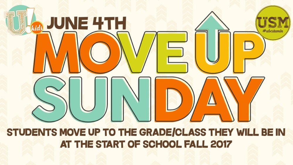 Move up Sunday 2017