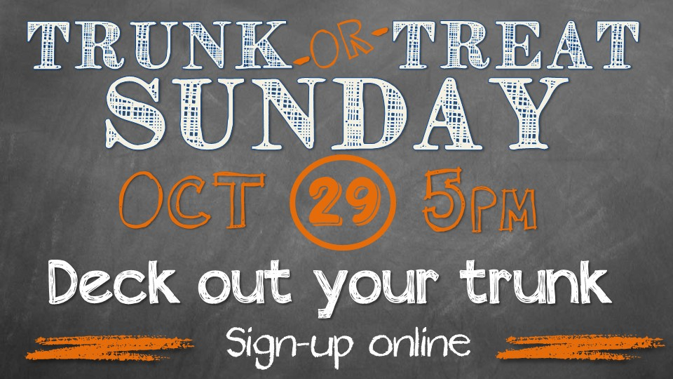 2017 Trunk or Treat